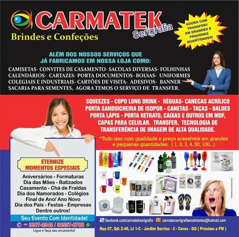 Carmatek Serigrafia Confecções Camisetas E Brindes