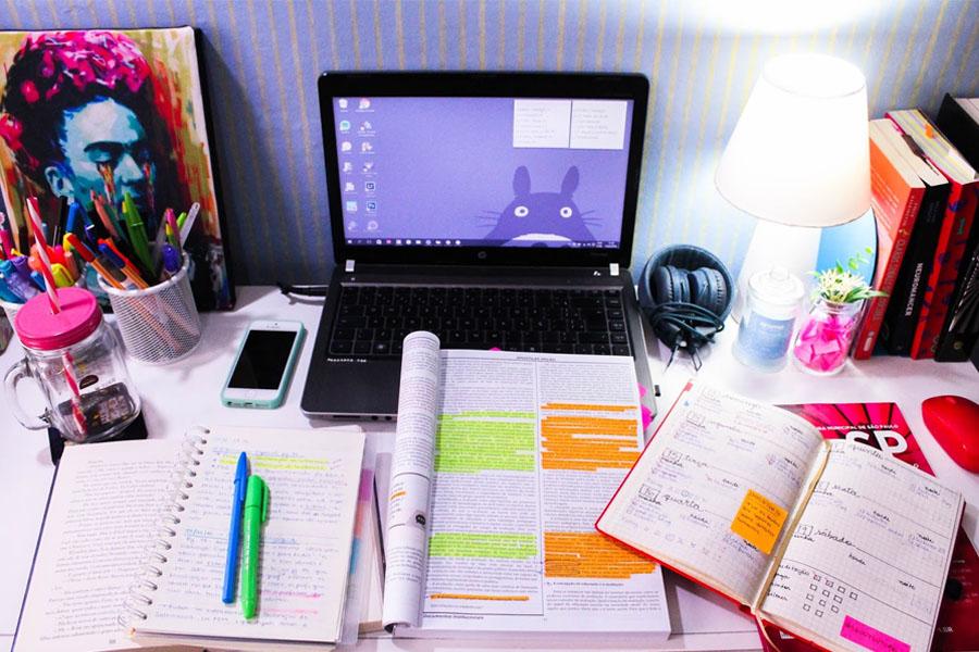 Dicas sensacionais para organizar seus estudos em casa – Parte 1