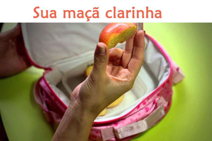 Impeça que a maçã do lanche da criançada escureça depois de cortada