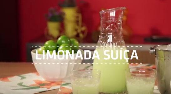 Aprenda a fazer uma deliciosa Limonada Suíça