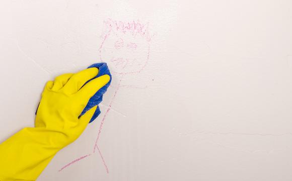 Acabe com as paredes sujas de sua casa
