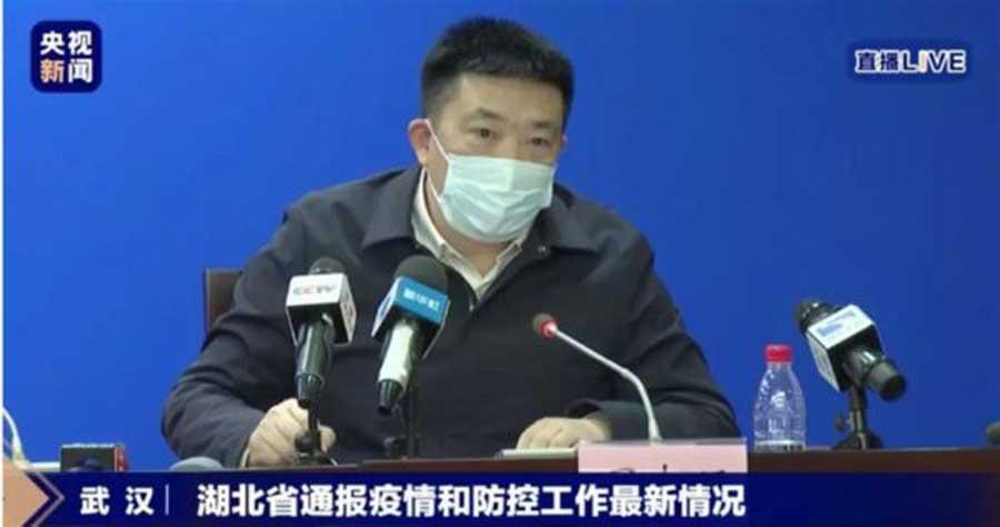 Prefeito de Wuhan oferece seu cargo após omitir informações sobre coronavírus
