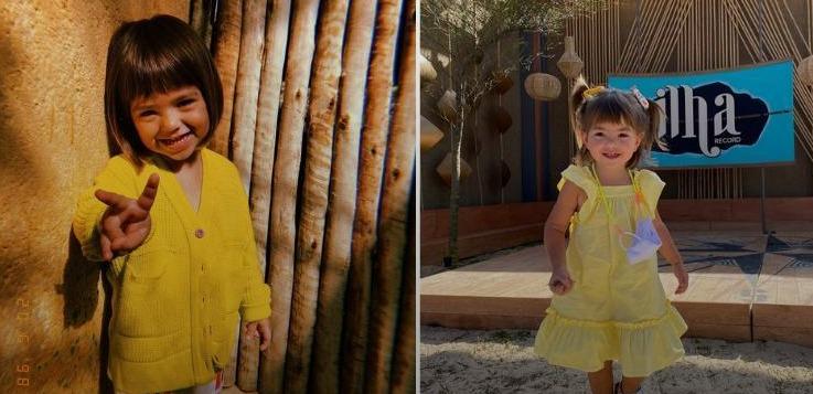 Zoe: filha de Sabrina Sato rouba a cena nos bastidores das gravações de 'Ilha Record'
