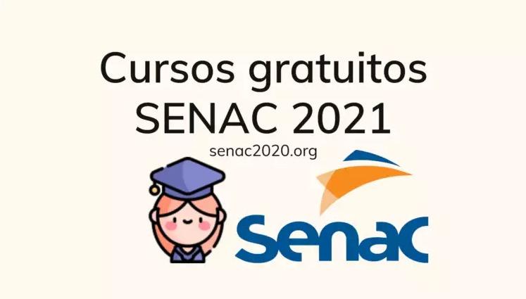 SENAC oferece 34 cursos online gratuitos, veja quais são eles